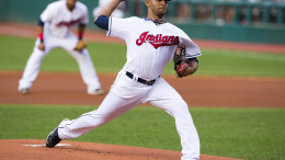 Danny Salazar gets the call for the Indians in the wild card game against the Rays (Photo Credit: Jason Miller/Getty Images)