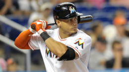 Giancarlo Stanton appeared in only 74 games last year as the Marlins went 71-91. (Photo Credit: Steve Mitchell-USA TODAY Sports)