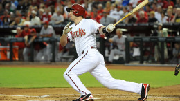 Paul Goldschmidt has finished second in NL MVP voting in two of the last three years. (Photo credit: Norm Hall/Getty Images.)