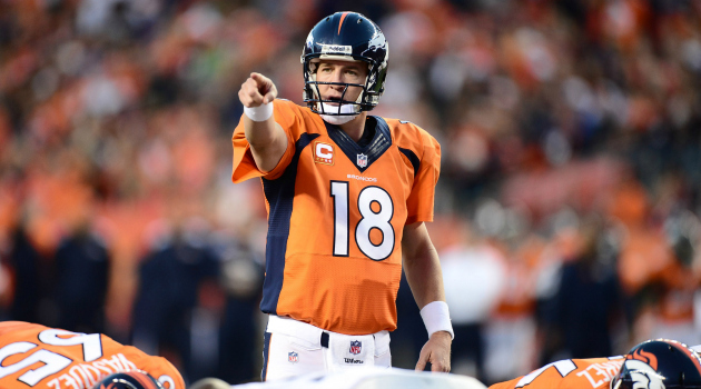Peyton Manning looks to cap his 18th season with his second Super Bowl win. (Photo Credit: Ron Chenoy-USA TODAY Sports)