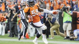 Von Miller, the Super Bowl 50 MVP, led a ferocious Broncos defense that neutralized the supposedly-unstoppable Panthers on Sunday.