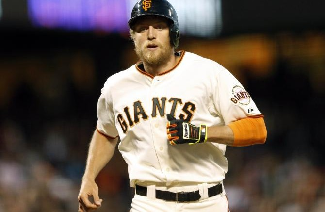 The Giants will be without the services of outfielder Hunter Pence for at least two months.