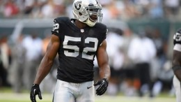 Khalil Mack, who had 15 sacks last year, will undoubtedly benefit from the team signing linebacker Bruce Irvin. Oakland also has added Kelechi Osemele and Sean Smith in free agency.