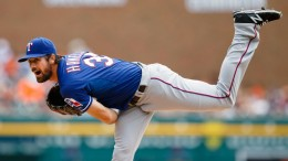 Cole Hamels is 9-1 with a 2.60 ERA for the first-place Rangers.