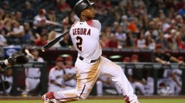 Jean Segura, brought to Arizona from Milwaukee via trade this offseason, leads the Majors with 32 hits.
