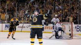 Brad Marchand is tied for fourth in the NHL with 36 goals for the Bruins, who are on the outside of the playoff picture looking in entering the season's final week.