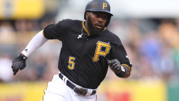 Josh Harrison, an All-Star in 2014, has been the ultimate jack-of-all-trades for the Pirates (Photo Credit: Charles LeClaire-USA TODAY Sports
