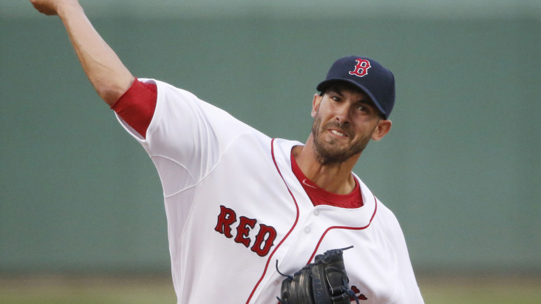 Rick Porcello has been the Red Sox's best starter thus far, going 5-0 with a 2.76 ERA in April (AP Photo Credit: Brynn Anderson)