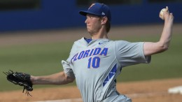 Left-handed pitcher A.J. Puk should go No. 1 to the Phillies in tonight's MLB Draft.