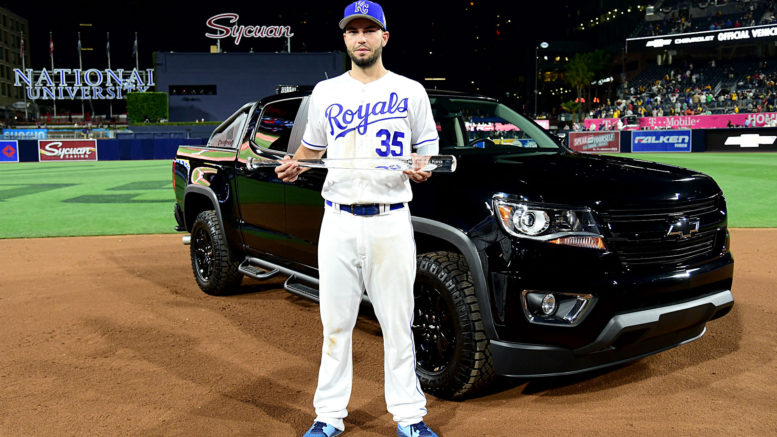 The Royals' Eric Hosmer got a shiny new car, which means that a team like the Rangers, Indians, or Red Sox will get homefield advantage in the World Series. Seriously?