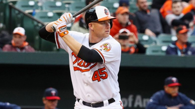 Mark Trumbo leads the Majors with 30 home runs, and has contributed with some key outfield assists as well for the first-place Orioles.