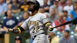 Andrew McCutchen drove in all three runs in the Pirates' much-needed, 3-2 win in 10 innings at Miller Park last night.