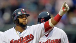 Will Carlos Santana and the Indians be hurt by the long layoff going into the World Series?