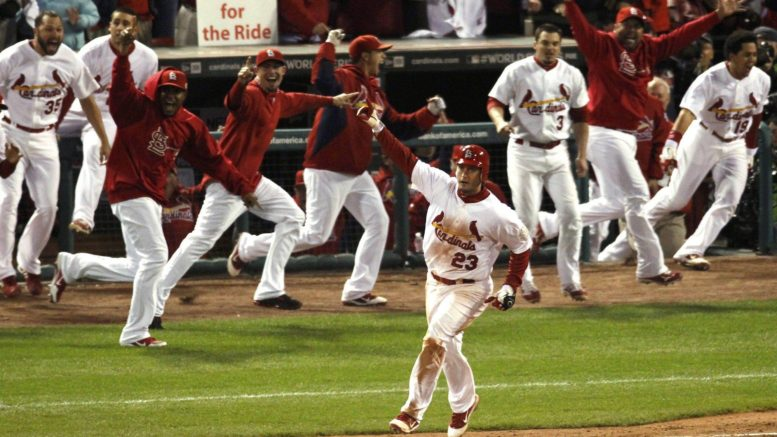 David Freese's walk-off home run capped one of the most memorable games in MLB postseason history.