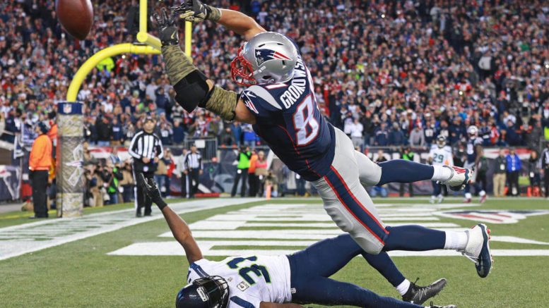 In a refreshing twist of fate, victory was just out of reach for Rob Gronkowski and the Patriots on Sunday night against the Seahawks.
