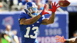 Odell Beckham Jr. and the Giants have won eight of nine after a 2-3 start.