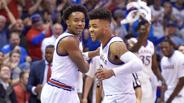 Devonte' Graham, Frank Mason III, and the Kansas Jayhawks hope to avoid the fate of the last team I picked to win it all on DraftAmerica. Michigan State was knocked out in the first round by No. 15-seeded Middle Tennessee State last year.