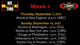 DraftAmerica presents an exclusive look at the 2017 NFL schedule... the way it should be, at least.